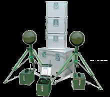 Sistema de protección portátil con barreras microondas MMD-SYSTEM de CIAS