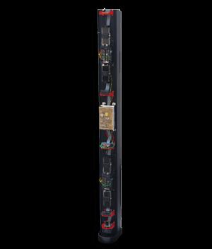 Columnas perimetrales preinstaladas easyPack para barreras de infrarrojos