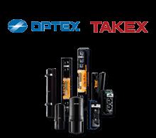 Barreras de infrarrojos para protección perimetral de las marcas OPTEX y TAKEX