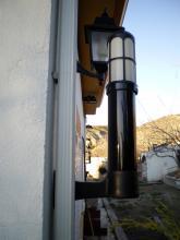 Aplicación Columna Perimetral de Seguridad Infrarroja CAV-W con Sensor de Infrarrojos Takex