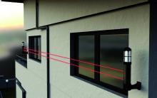 Sensor Columna Perimetral CAV-W con Barrera Infrarroja Takex