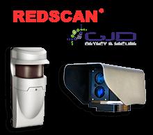 Soluciones perimetrales con detectores para exteriores y detectores fotoeléctricos infrarrojos para la detección de intrusos.