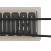Accesorio para barreras de infrarrojos de Takex y Optex para columnas de infrarrojos