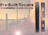 Las columnas easyPack de BUNKER SEGURIDAD. Una solución perfecta para la protección de las barreras infrarrojas de OPTEX