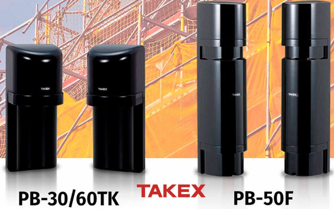 Takex infrared barriers used for scaffolding and tubular structures