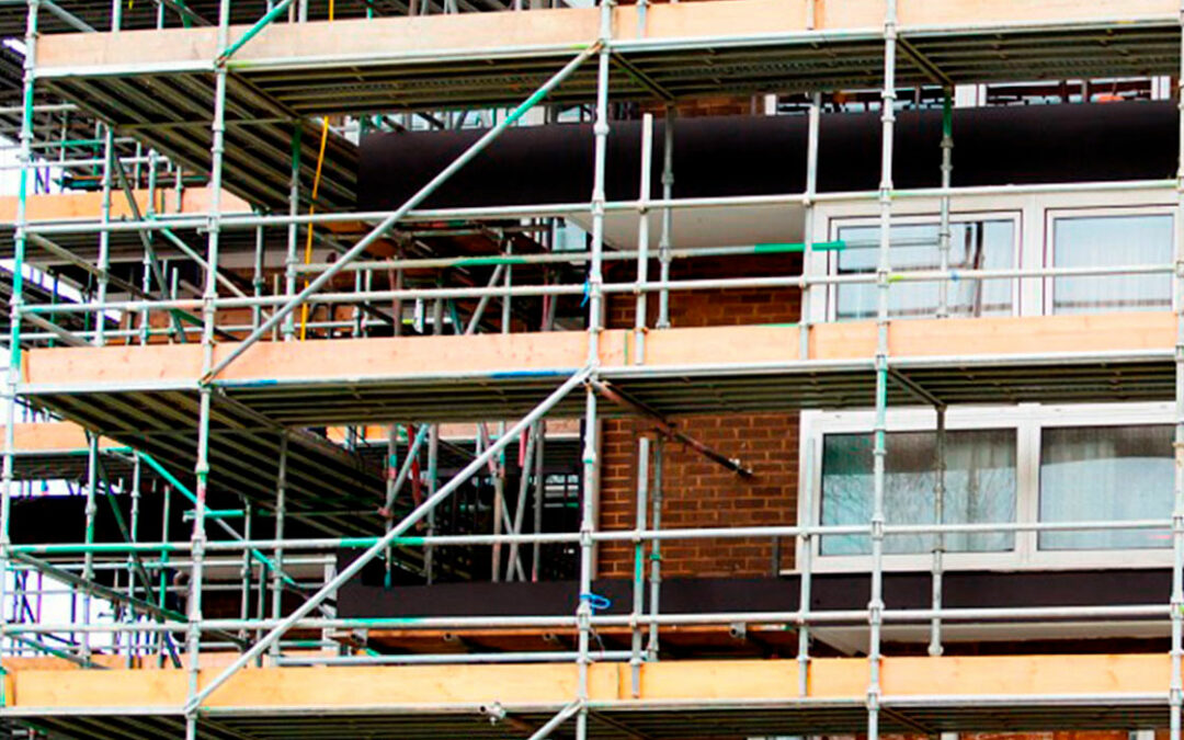 Protection of scaffolding and tubular construction solutions: key points
