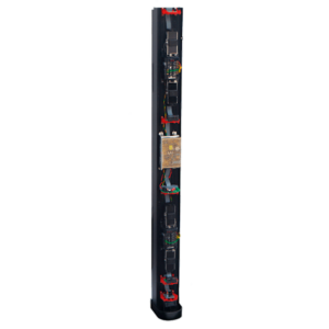 EasyPack prewired towers double side protection (360º) and 3 metres high
