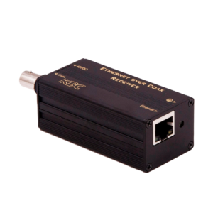 he KBC eCoppe line of products offer a cost-effective way to connect the latest IP cameras using existing coax or copper (UTP) wiring to a remote monitoring station.