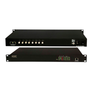 8-port industrial Ethernet over Coax receive