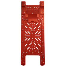 Takex mounting plates (2 units) for TAKEX photobeams, KH model.