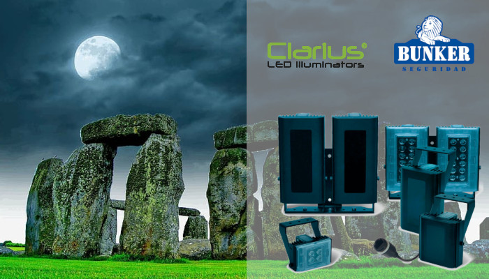 LED illumination for protection of Stonehenge