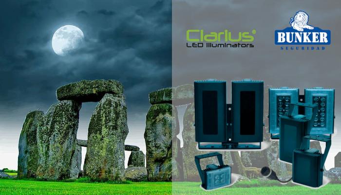 GJD's Clarius infrared LED illuminators helps to protect the megalithic monument Stonehenge