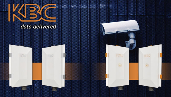 City surveillance against vandalism with KBC Networks' wireless transmission system