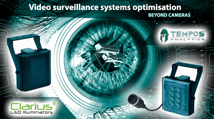 Optimising an existing video surveillance system with LED illuminators and advanced video analytics