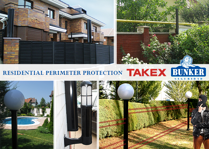 Perimeter protection for primary and secondary residences